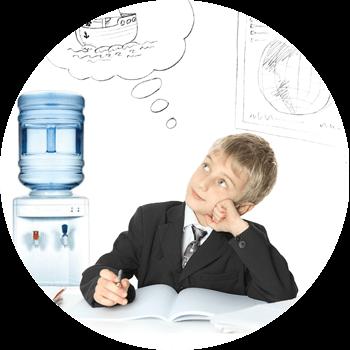 Заказ води для школы и садика!